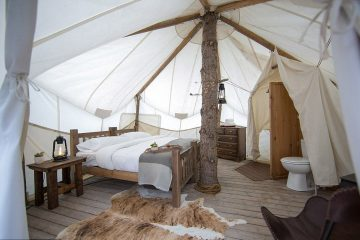 supplier of fully equipped and luxury glamping tents