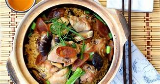 Clay pot rice